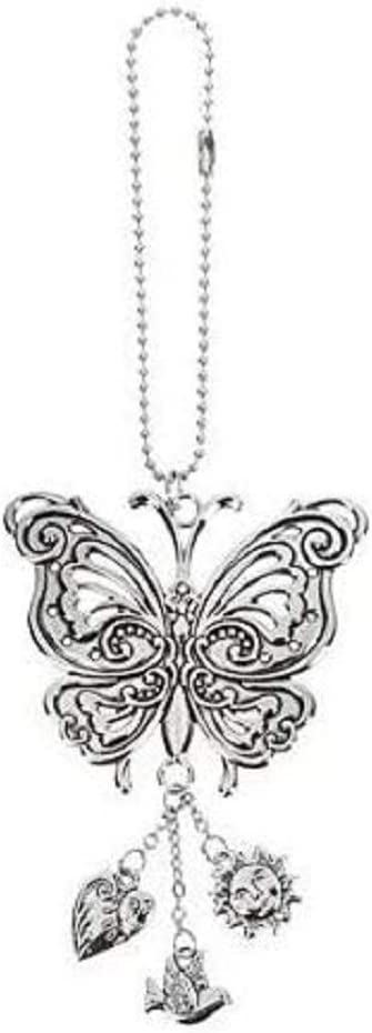 Ganz Butterfly Car Charm