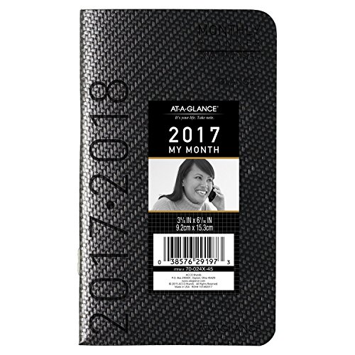 GLANCE Monthly Planner Appointment Book