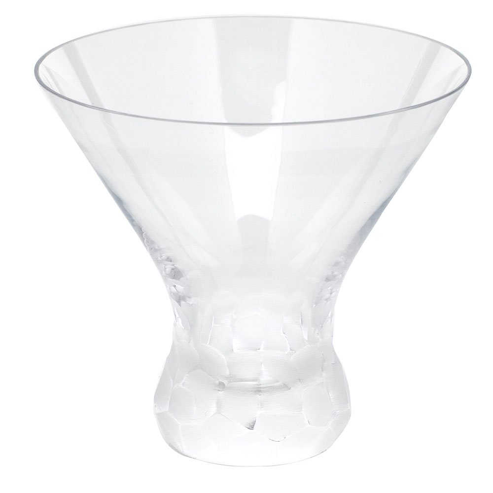 Moser Pebbles Stemless Martini, Clear