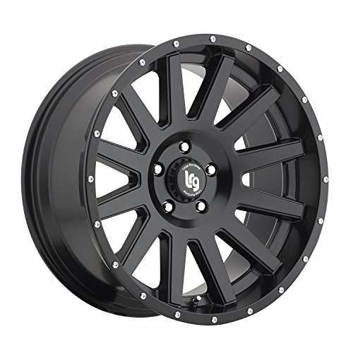 LRG Rims LRG107 Gamer Wheel with Satin Black Finish (20×9″/5×5″)