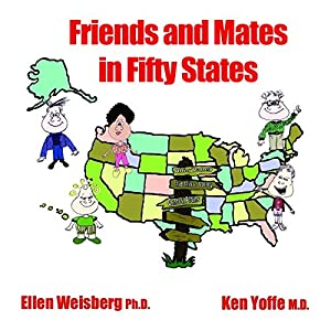 Friends and Mates in Fifty States Audiobook