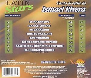 Latin Stars - Ismael Rivera (Karaoke CDG)