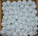 Wiffle Practice Golf Balls - 240 Pieces Wholesale Lot, White by IM Golf