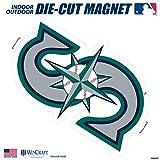"Stockdale Seattle Mariners SD 12"" Logo MAGNET Die Cut Vinyl Auto Home Heavy Duty Baseball"