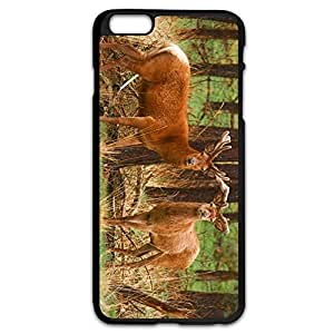 AOPO Phone Cover For IPhone 6 Plus,Red Deer Make Your Own IPhone 6 Plus Cavers