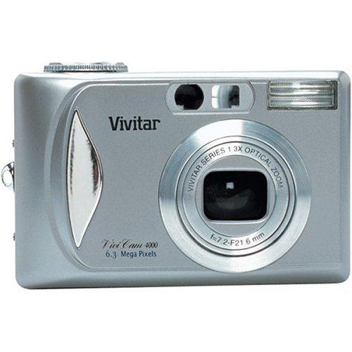 Vivitar Vivicam 4000 6MP Digital Camera with 3x Optical Zoom