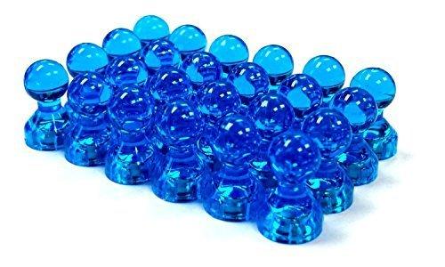 Blue Push Pin Magnets Refrigerators product image