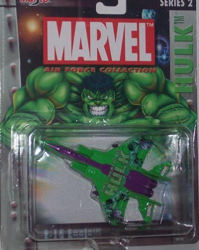 Amazon.com: Maisto Ultimate Marvel Air Force Hulk F-15 Eagle ...