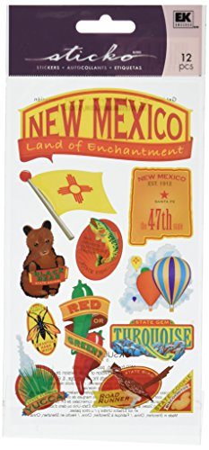 New Mexico Balloon - Sticko New Mexico Stickers