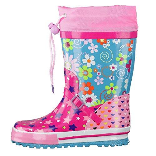 Beck, Bottes pour Fille multicolore rose