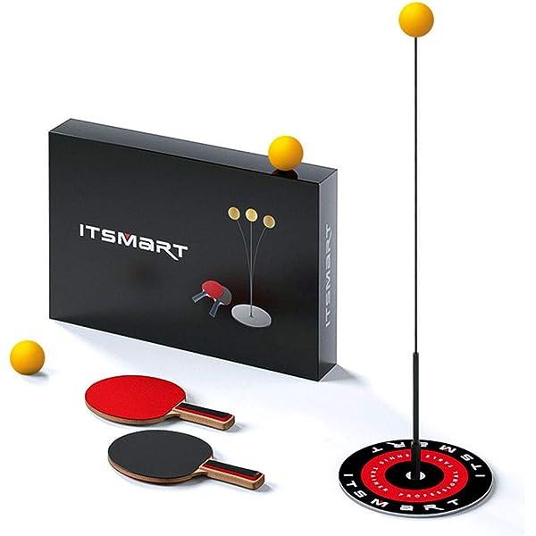 Table Tennis Trainer Equipment Rebound Robot Tennis Rebound Trainer Fixed Indoor