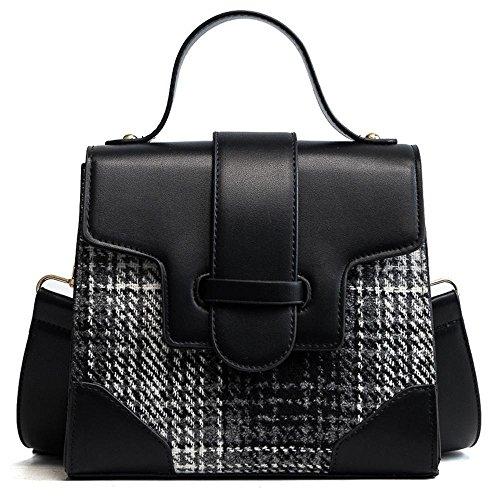 Aoligei Bump PU sac à bandoulière unique mode décontractée rue pop sac de femme C