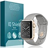 Apple Watch Series 2 Screen Protector (38mm), IQ Shield Matte Full Coverage Anti-Glare Screen Protector + Full Body Skin for Apple Watch Series 2 Bubble-Free Film - with