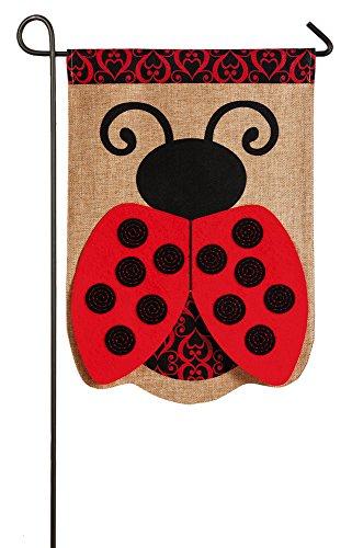 Ladybug Garden Flag (Flag Lady Gifts)
