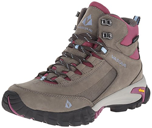 Vasque Women's Talus Trek UltraDry Hiking Boot, Gargoyle/Damson, 8.5 M US (Wide Women Boots Hiking)