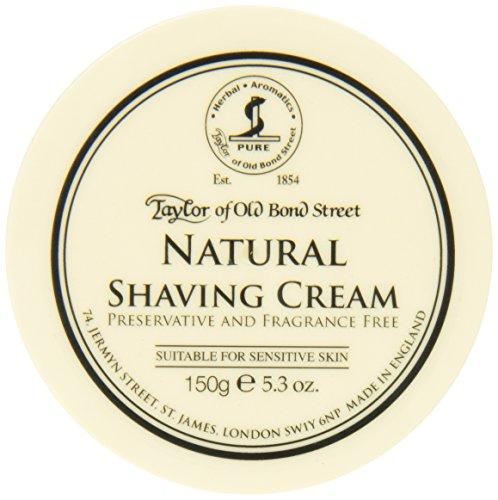 Taylor of Old Bond Street Natural Shaving Cream Bowl, 5.3 Ou