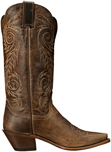 Justin Boots Women's Classic Western Boot Narrow Square Toe,Tan Damiana,8 B US by Justin Boots (Image #7)