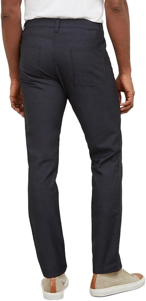 Kenneth Cole New York Mens Slim Five Pocket Pant