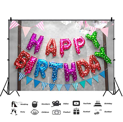Baocicco 10x7ft Happy Birthday Backdrop Children's for sale  Delivered anywhere in USA