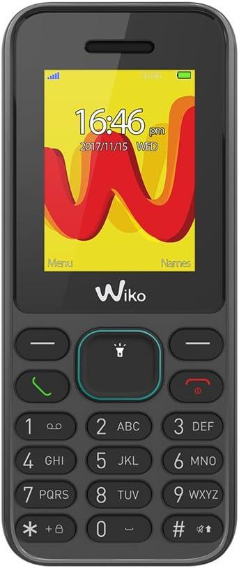 """Wiko Lubi5 - Teléfono móvil Libre de 1.8"""" (Dual SIM, Radio FM ..."""