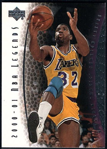 Basketball NBA 2000-01 Upper Deck Legends #32 Magic Johnson Lakers