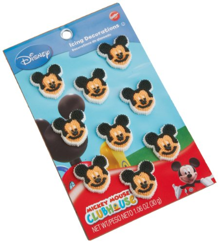 Wilton Mickey Mouse Clubhouse Icing (Halloween Treats For Preschoolers To Make)