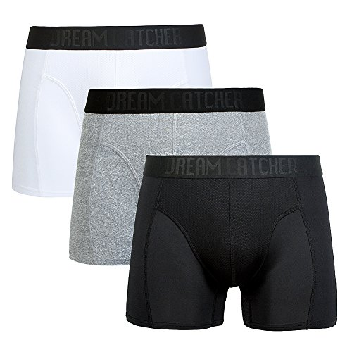 Athletic Sport Underwear - Sports Underwear Breathable Dri Fit Underwear Mens Support Underwear Workout Underwear Athletic Boxer Briefs