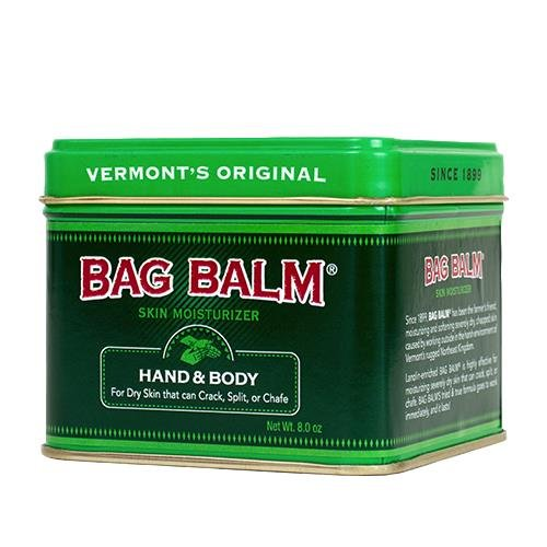 Bag Balm Vermonts Original Moisturizing And Softening Ointment, 8 Ounce (2 Pack) made in Vermont