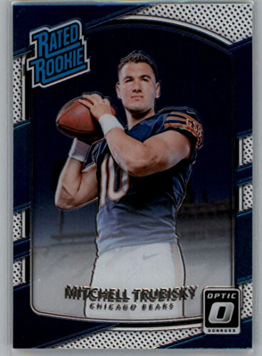 2017 Donruss Optic #178 Mitchell Trubisky Chicago Bears Rated Rookie