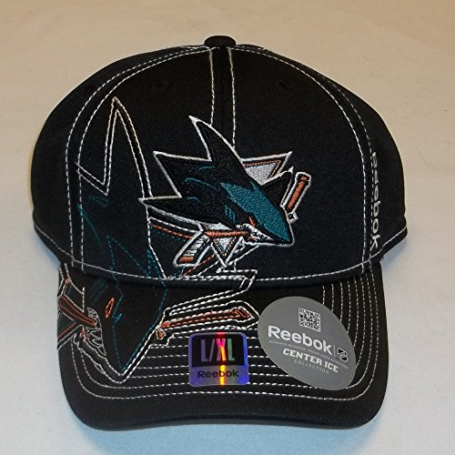 Reebok San Jose Sharks Draft Hat Size L/XL M250z