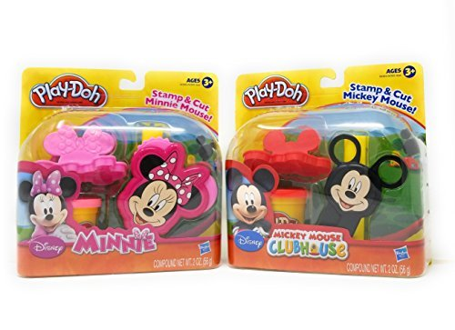 Play-Doh Mickey Mouse Clubhouse Set Minnie and Mickey Bundle (Sets Outdoor Australia Furniture)