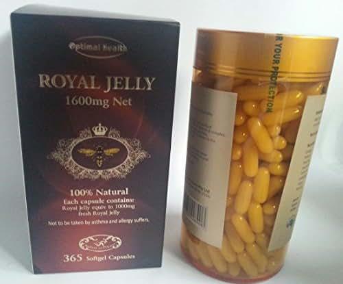 Optimal Health Royal Jelly 365 Capsules