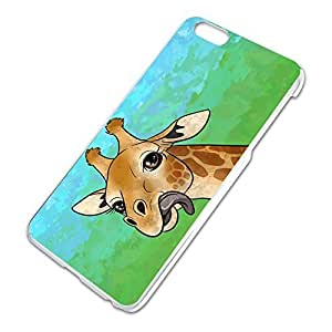 Giraffe Sticking Tongue Out Slim Fit Hard Case Fits Apple iPhone 6 Plus