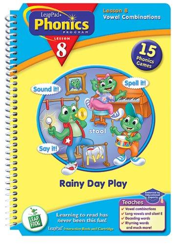 LeapPad Phonics Program Book #8: Rainy Day Play