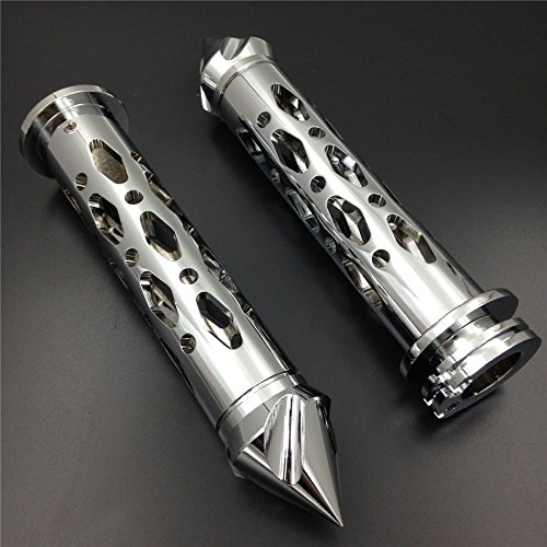 XKMT Motorcycle Chrome CNC Billet 7/8