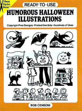 Ready-to-Use Humorous Halloween Illustrations (Dover Clip-Art Series)
