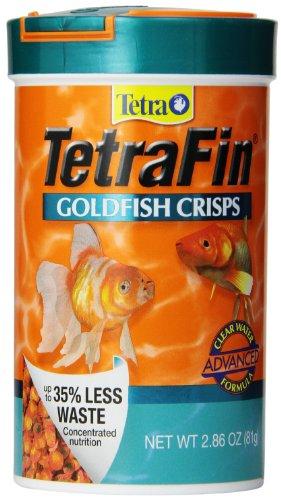 (TetraFin Goldfish Crisps, Clear Water Advanced Formula)