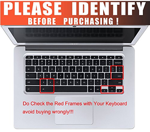 CaseBuy Keyboard Protector Skin Compatible 2018/2017 Chromebook 11 CB3-131 CB3-132 / Chromebook R 11 - http://coolthings.us