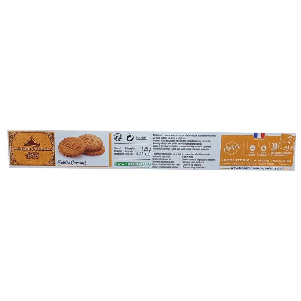 Amazon.com: La Mere Poulard Les Sabres Caramel 125g French