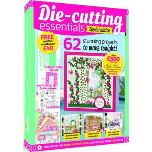 Hunkydory Design Collection Box Issue 2 - Holiday Magazine plus Dies Stamps Folder