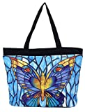 Galleria – Tiffany Butterfly Tote Bag, Bags Central