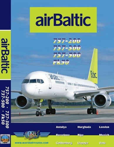 Amazon Com Air Baltic Boeing 737 300 737 500 757 200 Fokker 50 Just Planes Movies Tv