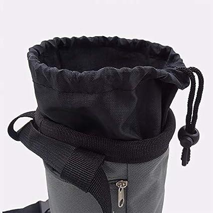 Chalk Bag —Borsa in Polvere di Magnesio Grigio per Alpinismo