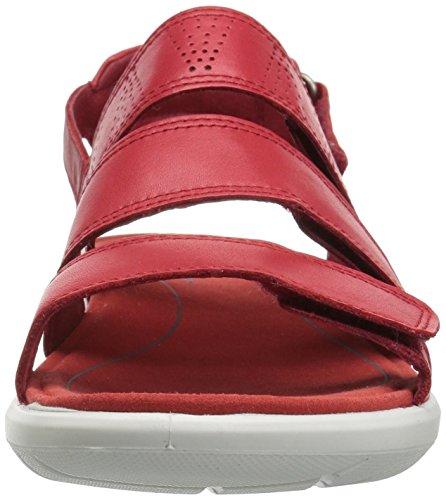ECCO Women's Soft 5 Open Toe Sandals, Red Red (Tomato 1046)