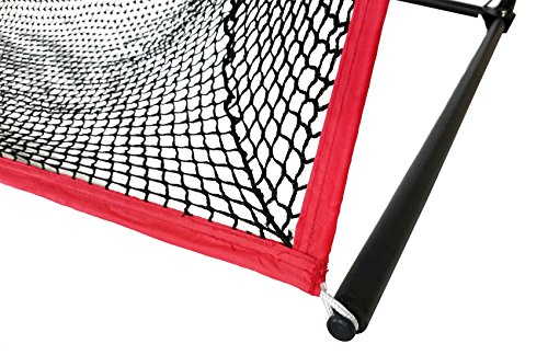 Large 10 X 7 Portable Golf Net - Great for year around golf practice - Can be used to hit balls indoors or outdoors. Large hitting area to catch all golf shots by Sport Nets (Image #3)