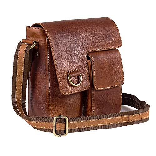 Goatter Leather Brown Messenger Bag?