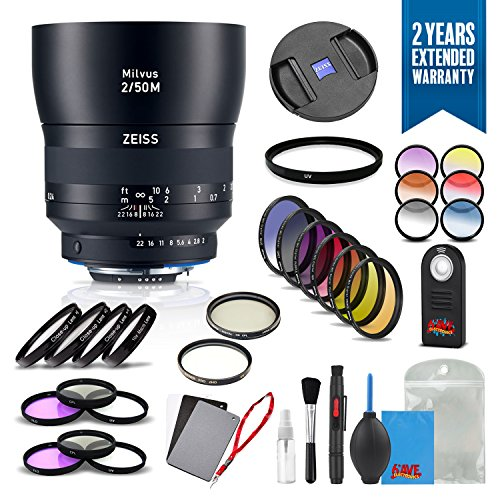 Zeiss Milvus 50mm f/2M ZF.2 Lens for Nikon F - 2096-558 for sale  Delivered anywhere in USA