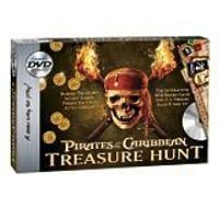 Caza del tesoro en DVD de Piratas del Caribe
