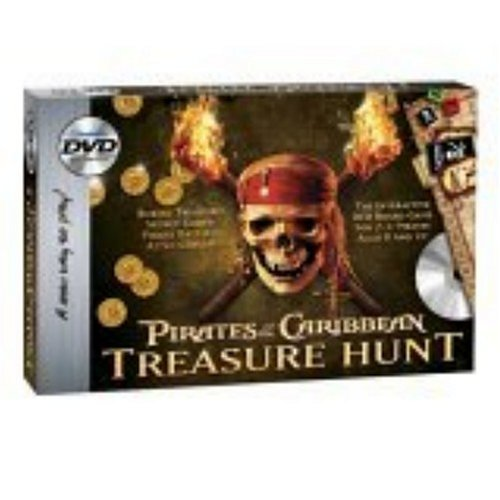 Pirates of the Caribbean DVD Treasure Hunt