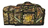 Lightning X Premium Camouflage 3XL Firefighter Step-In Gear Bag w/ Helmet Compartment - Deep Woods Camo